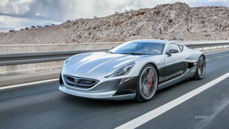 Rimac electric car, concept one model