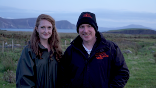 Achill Oysters business founders