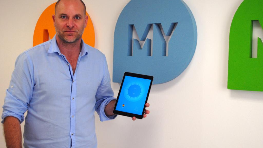 Jonas Borgh, founder of MYMobile Security